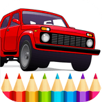 Russian Cars Coloring Book 2.4