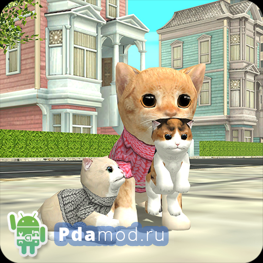 Cat Sim Online: Play with Cats 3.4