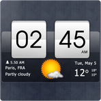 Sense Flip Clock & Weather 4.26.01